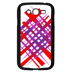 Chaos Bright Gradient Red Blue Samsung Galaxy Grand Duos I9082 Case (black)