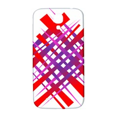 Chaos Bright Gradient Red Blue Samsung Galaxy S4 I9500/i9505  Hardshell Back Case