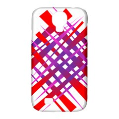 Chaos Bright Gradient Red Blue Samsung Galaxy S4 Classic Hardshell Case (pc+silicone)