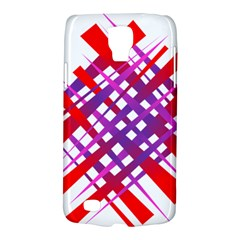 Chaos Bright Gradient Red Blue Galaxy S4 Active