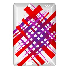 Chaos Bright Gradient Red Blue Amazon Kindle Fire HD (2013) Hardshell Case