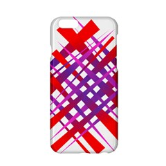 Chaos Bright Gradient Red Blue Apple Iphone 6/6s Hardshell Case