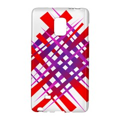 Chaos Bright Gradient Red Blue Galaxy Note Edge