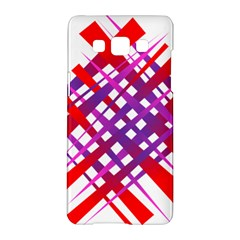 Chaos Bright Gradient Red Blue Samsung Galaxy A5 Hardshell Case