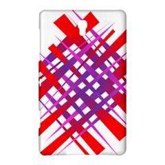 Chaos Bright Gradient Red Blue Samsung Galaxy Tab S (8.4 ) Hardshell Case