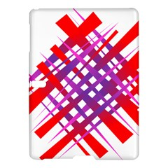 Chaos Bright Gradient Red Blue Samsung Galaxy Tab S (10 5 ) Hardshell Case