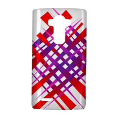 Chaos Bright Gradient Red Blue LG G4 Hardshell Case