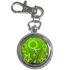 Art About Ball Abstract Colorful Key Chain Watches