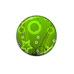 Art About Ball Abstract Colorful Hat Clip Ball Marker (10 Pack)