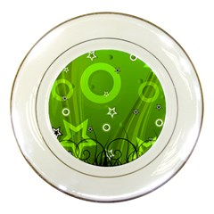 Art About Ball Abstract Colorful Porcelain Plates