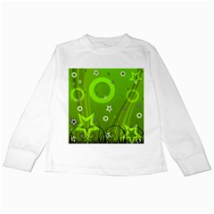 Art About Ball Abstract Colorful Kids Long Sleeve T-Shirts