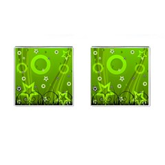 Art About Ball Abstract Colorful Cufflinks (square)