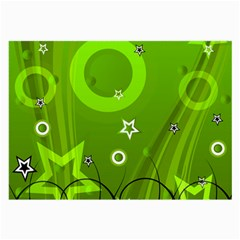 Art About Ball Abstract Colorful Large Glasses Cloth (2-Side)