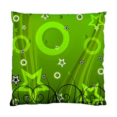 Art About Ball Abstract Colorful Standard Cushion Case (One Side)
