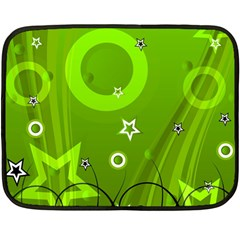 Art About Ball Abstract Colorful Fleece Blanket (mini)