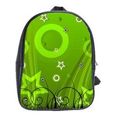 Art About Ball Abstract Colorful School Bags(large)