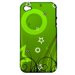 Art About Ball Abstract Colorful Apple Iphone 4/4s Hardshell Case (pc+silicone)