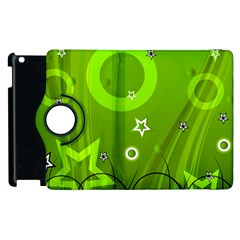 Art About Ball Abstract Colorful Apple Ipad 2 Flip 360 Case