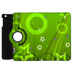 Art About Ball Abstract Colorful Apple Ipad Mini Flip 360 Case