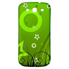 Art About Ball Abstract Colorful Samsung Galaxy S3 S Iii Classic Hardshell Back Case