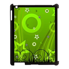 Art About Ball Abstract Colorful Apple Ipad 3/4 Case (black)