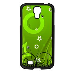 Art About Ball Abstract Colorful Samsung Galaxy S4 I9500/ I9505 Case (black)