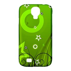Art About Ball Abstract Colorful Samsung Galaxy S4 Classic Hardshell Case (pc+silicone)