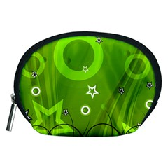 Art About Ball Abstract Colorful Accessory Pouches (medium)