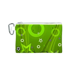 Art About Ball Abstract Colorful Canvas Cosmetic Bag (S)
