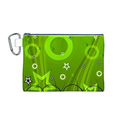 Art About Ball Abstract Colorful Canvas Cosmetic Bag (M)