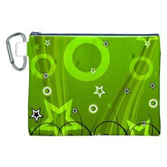 Art About Ball Abstract Colorful Canvas Cosmetic Bag (XXL)