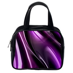 Fractal Mathematics Abstract Classic Handbags (one Side)