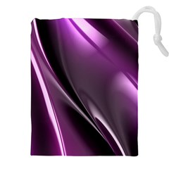 Fractal Mathematics Abstract Drawstring Pouches (xxl)