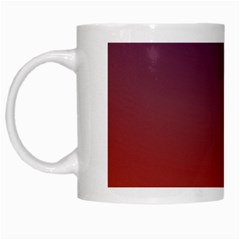 Course Colorful Pattern Abstract White Mugs