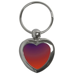 Course Colorful Pattern Abstract Key Chains (heart)