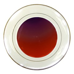 Course Colorful Pattern Abstract Porcelain Plates