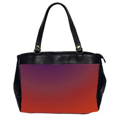 Course Colorful Pattern Abstract Office Handbags (2 Sides)