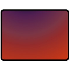 Course Colorful Pattern Abstract Fleece Blanket (Large)