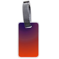 Course Colorful Pattern Abstract Luggage Tags (One Side)