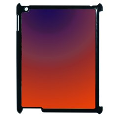 Course Colorful Pattern Abstract Apple iPad 2 Case (Black)