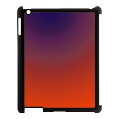 Course Colorful Pattern Abstract Apple Ipad 3/4 Case (black)