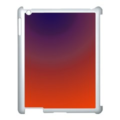Course Colorful Pattern Abstract Apple iPad 3/4 Case (White)