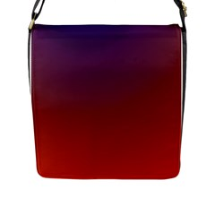 Course Colorful Pattern Abstract Flap Messenger Bag (l)