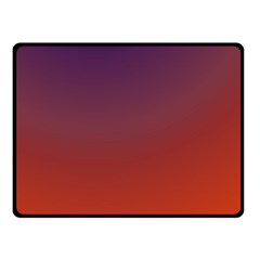Course Colorful Pattern Abstract Double Sided Fleece Blanket (Small)