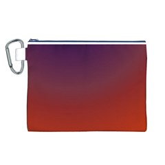 Course Colorful Pattern Abstract Canvas Cosmetic Bag (l)