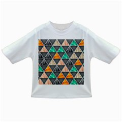 Abstract Geometric Triangle Shape Infant/Toddler T-Shirts
