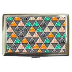 Abstract Geometric Triangle Shape Cigarette Money Cases