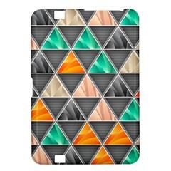 Abstract Geometric Triangle Shape Kindle Fire Hd 8 9
