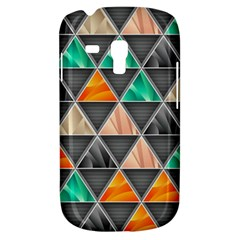 Abstract Geometric Triangle Shape Galaxy S3 Mini