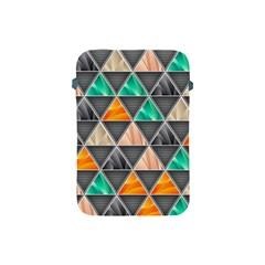 Abstract Geometric Triangle Shape Apple iPad Mini Protective Soft Cases